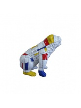 Bull dog US Assis Mosaique