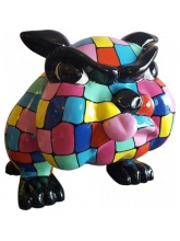 Bull Dog Cartoon XL Arlequin