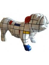 Bull Dog Chicago Mosaïque