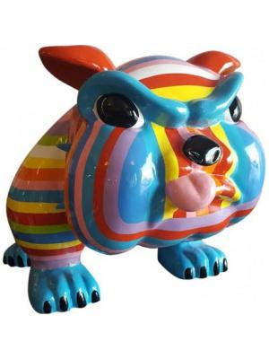 Bull Dog Cartoon XL Multicolore