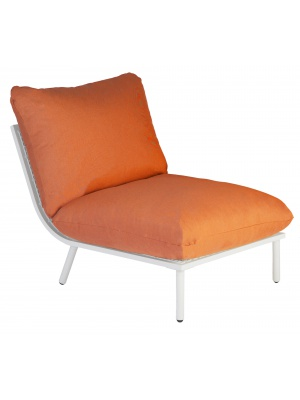 Module milieu Blanc Beach Orange