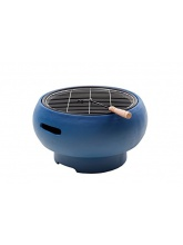 Barbecue Portable Charbon de bois Bleu
