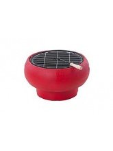 Barbecue Portable Charbon de bois Rouge