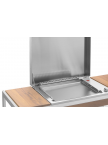 Plancha Oasi 55 Encastrable Plaque inox
