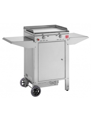 Plancha Chef 55 avec chariot
