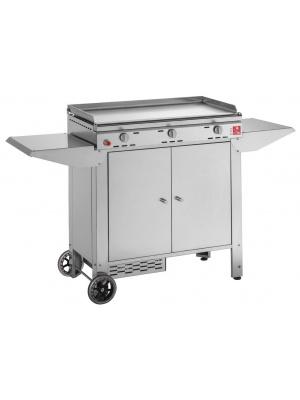 Plancha Chef 80 avec chariot