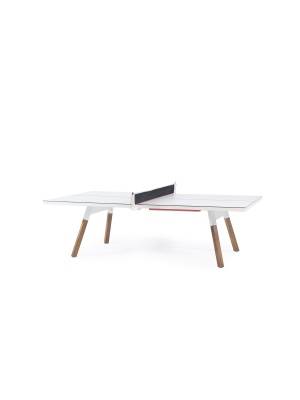Table de ping pong / repas You and Me blanche