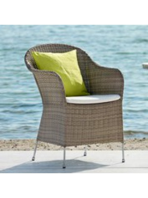 Fauteuil Athene taupe