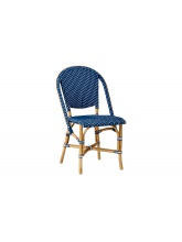 Chaise Sofie empilable Bleu Navy