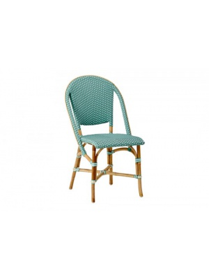 Chaise Sofie empilable Verte