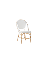Chaise Sofie empilable Blanche