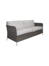 Canapé Orion taupe avec coussins