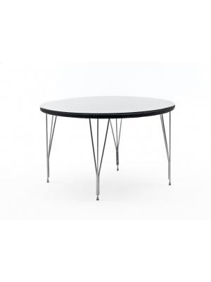 Table ronde Jupiter noir