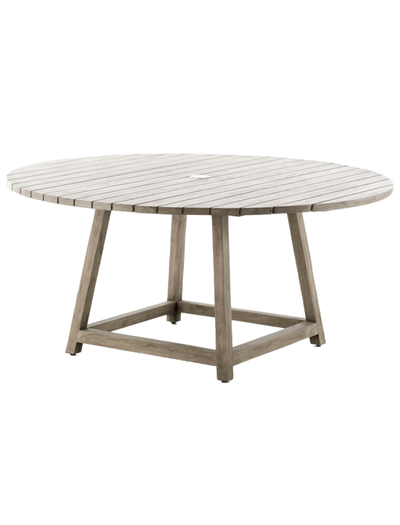 Sika Design Table ronde George en rotin
