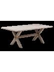 Table en tek Colonial 200 cm