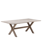 Table en tek Colonial 200 cm