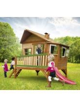 Cabane enfant EMMA en cèdre vernis naturel
