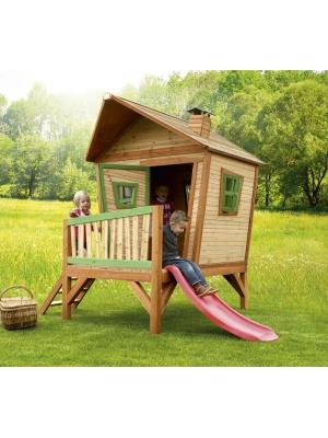 Cabane enfant IRIS en cèdre vernis naturel