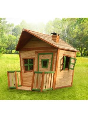 Cabane enfant JESSE en cèdre vernis naturel