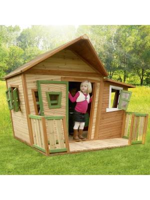 Cabane enfant LISA en cèdre vernis naturel