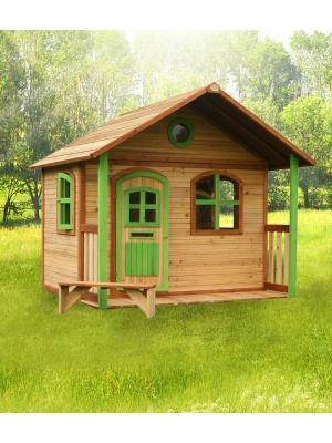 Cabane enfant MILAN en cèdre vernis naturel
