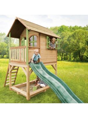 Cabane enfants SARAH en cèdre vernis naturel