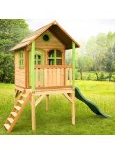 Cabane enfants LAURA en cèdre vernis naturel