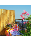 Panneau bambous pleins naturel régulier