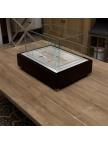 Cheminée bioéthanol Insert Table Box noir