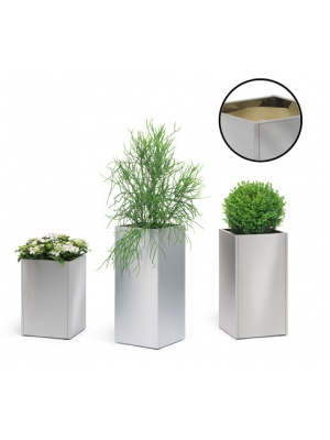 Bac à plantes GREENS colonne Inox
