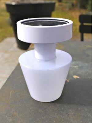 Lampe portable solaire Blanc