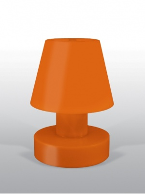 Lampe portable Orange rechargeable