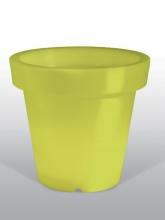 Pot Vert citron non lumineux