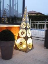 Luminaire de jardin Rond de Soleil Gris