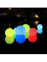 Boule lumineuse à LED flottante