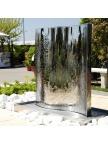 Fontaine de jardin Mur d'eau inox 304