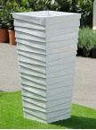 Pot Pyramide en fibre de verre XL