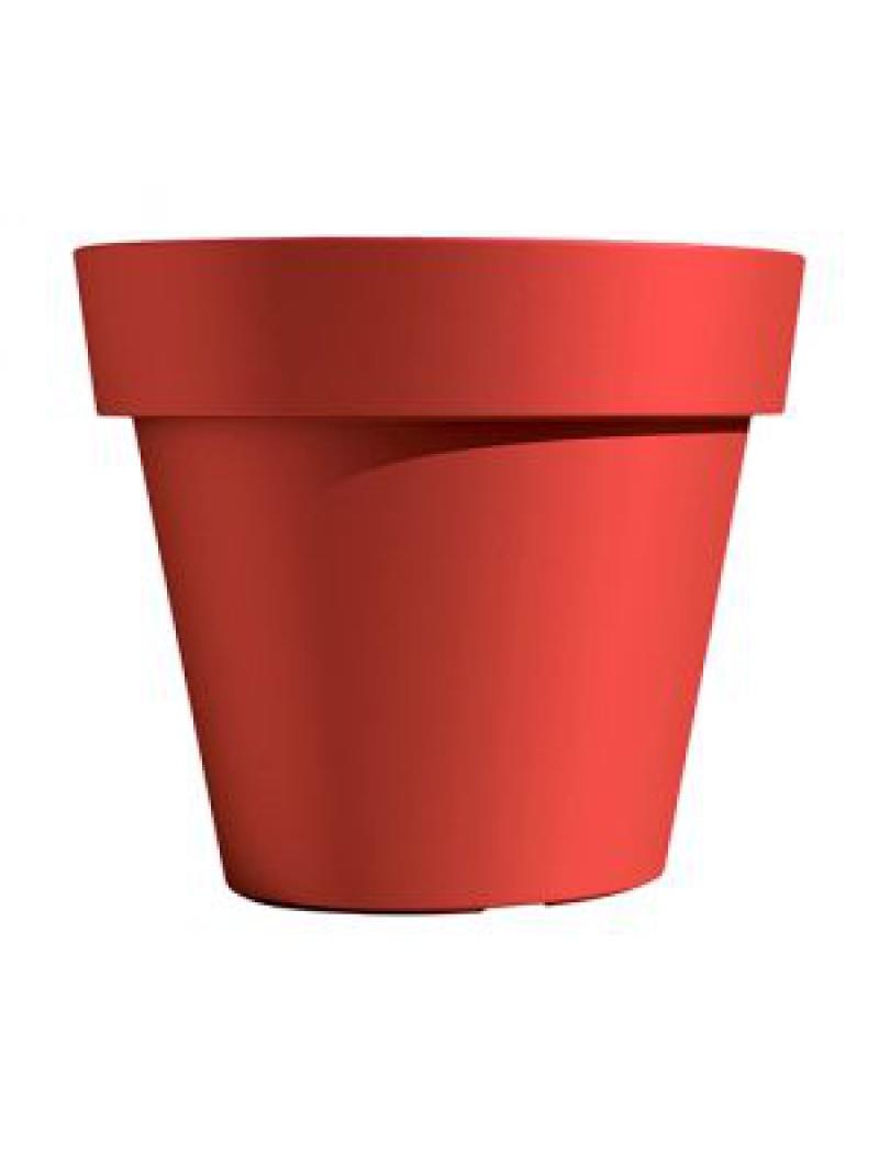 pot de fleurs ikon rouge orient euro3plast bac plastique. Black Bedroom Furniture Sets. Home Design Ideas