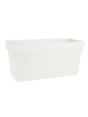 Jardinière Muret Toscane 80 cm blanche