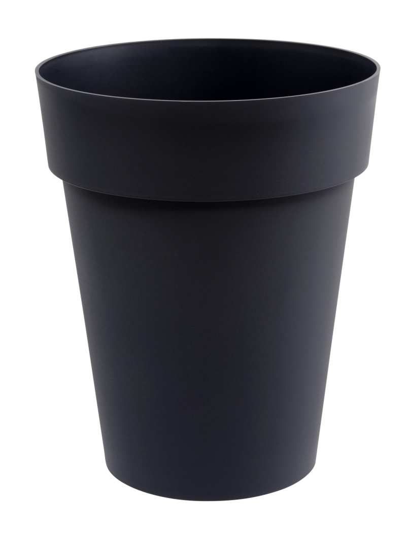 vase haut toscane 50l anthracite eda plastiques bac plastique et rotomoul jardin concept. Black Bedroom Furniture Sets. Home Design Ideas