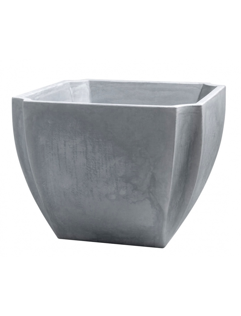 jardini re palm a gris carr 70 cm r serve d 39 eau eda. Black Bedroom Furniture Sets. Home Design Ideas