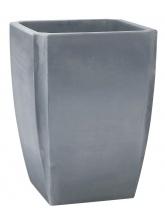 Jardinière Palméa gris 47 cm à réserve d'eau