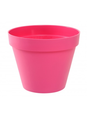 Pot de fleurs Toscane rose