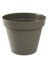 Pot de fleurs Toscane taupe