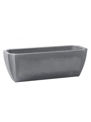 jardini re palm a gris 80 cm r serve d 39 eau eda. Black Bedroom Furniture Sets. Home Design Ideas