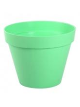Pot de fleurs Toscane vert jade Ø 20cm