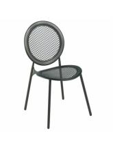 Lot de 4 chaises Antonietta fer ancien