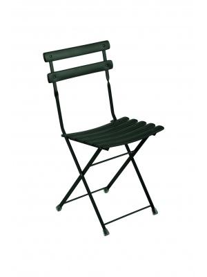 Lot de 2 chaises arc en ciel noires