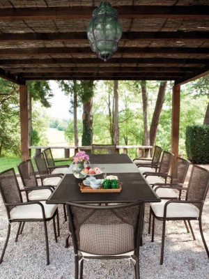 Table de jardin Athena  230 + 12 fauteuils