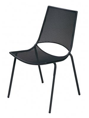 Lot de 4 chaises de jardin Ala noires